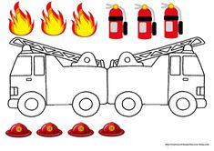 Teaching, Education, Blog, Kids, Conte, Party, Firemen, Souvenir, Fire Fighter Party
