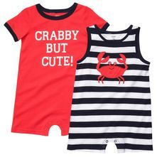 Carter S Baby Boys 2 Pack Romper Set Our Baby Pinterest