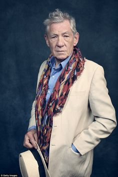 All natural! Sir Ian McKellen has revealed he doesn't believe in Botox and thinks many Hollywood stars would do better to age gracefully