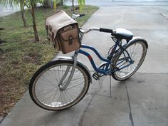 I'd like to make on for my bike...maybe an old backpack