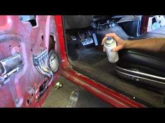 Car Restoration Tips & Guide Video Carpet and Upholstery Start to Finish Mini Series Car Interior Design, Commercial Interior Design, Interior And Exterior, Automotive Carpet, Automotive Upholstery, Car Fix, Car Carpet, Car Restoration, Mini Trucks