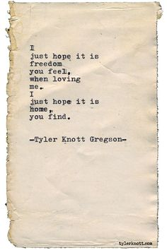 """tylerknott: """"Typewriter Series by Tyler Knott Gregson """" Poem Quotes, Words Quotes, Life Quotes, Sayings, Crush Quotes, Tattoo Quotes, The Words, Pretty Words, Beautiful Words"""