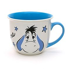 Eeyore Faces Character Mug