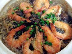 私房小菜:大虾粉丝煲 - 由momo_sharon发表 - 文学城
