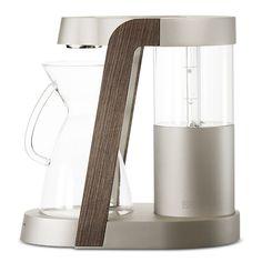 Beautiful elevation of the Ratio Eight Coffee Machine.  James Owen Design + Ratio  http://ratiocoffee.com/  #design #industrialdesign #visual #designlife #designer #vision #visual #aesthetic #Coffee #coffeemaker #kitchen #wood #productdesign #productdevelopment
