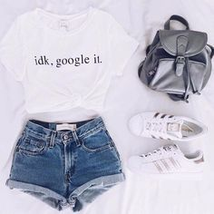 cute summer outfits that looks trendy. Teenage Outfits, Teen Fashion Outfits, Girl Outfits, Tween Fashion, Girl Fashion, Fashion Clothes, Teenager Fashion, Teen Summer Outfits, Womens Fashion