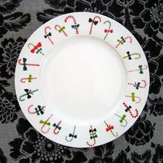 hand painted plate!    www.loinlondon.com
