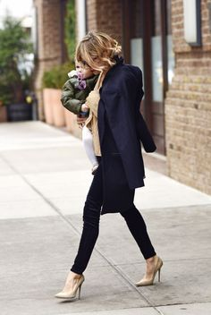 Who says motherhood can't be chic?
