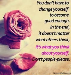 .....Don't People-Please!!