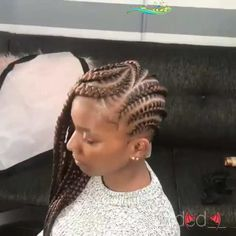Braidstyle with Nappyme  <br> Box Braids Hairstyles, Lemonade Braids Hairstyles, Kids Braided Hairstyles, Easy Hairstyle, Hairstyle For Kids, Natural Cornrow Hairstyles, African Hairstyles, Natural Hair Braids, Braids For Black Hair