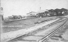 Tampico Antiguo Talleres del ferrocarril en 1919