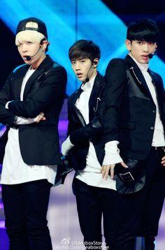 Young Jae, Mark & Jr. | GOT7 @ 29th Golden Disk Award in Beijing, China