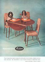 Louisville Style-Setter Dinettes 1963 Ad Picture
