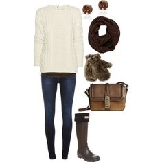 Winter Outfit #Bon-fire thang