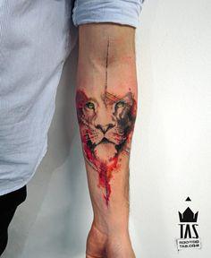 Tatuagem Pontilhismo - Rodrigo Tas. Sua arte é unica e exclusiva, seu estilo é voltado para o pontilhismo e geometria. Conheça alguns dos trabalhos dele..