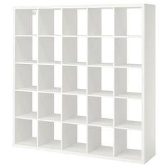 Etagere Kallax Ikea, Ikea Kallax Shelf Unit, Ikea Kallax Regal, Wall Shelf Unit, Wall Shelves, Kallax 5x5, Hemnes Bookcase, Ikea Regal, Ikea Shelves