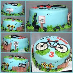 Die 17 Besten Bilder Von Fahrrad Torte Bicycle Cake Bike Cakes