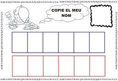 Vos deixem el Projecte del Nom Propi en valencià. Este projecte va dirigit als xiquets i xiquetes de 3 anys on aprenen a discriminar i escr...