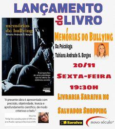 Clube do Livro e Amigos: [Resenha] Memórias do Bullying - Tahiana Andrade S...