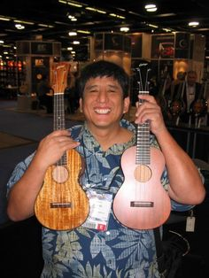 MGM and the famous Collings ukes.RIP.