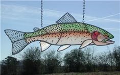 Rainbow trout trout and coloring pages on pinterest for Chicago fly fishing outfitters