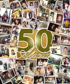 Cuadro collage #felices50