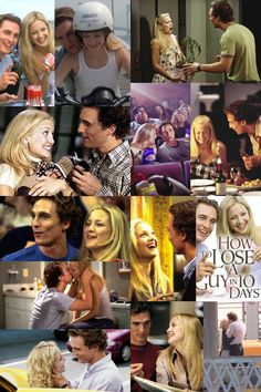 How to Lose a Guy in 10 Days is one of my top favorite movies. Its hilarious. Plus, it has Matthew McConaugheyyyyyyyy!! <3