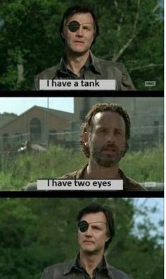 """I have a tank   I have two eyes   """"That's cold that fuck u"""""""