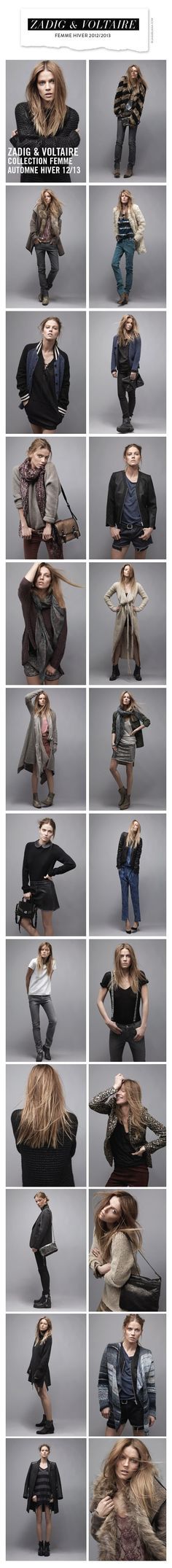 Zadig & Voltaire Woman Fall Winter 2012/2013