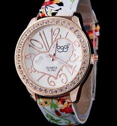 cead8d365b7 Fashion Casual Leather Strap Heart Design Watch For Women