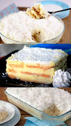 Cheesecakes, Baking Recipes, Cake Recipes, Coco, Vanilla Cake, Mousse, Brunch, Sweet Tooth, Deserts