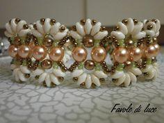 """""""Farfalle"""" bracelet (pattern by Deborah Roberti)"""