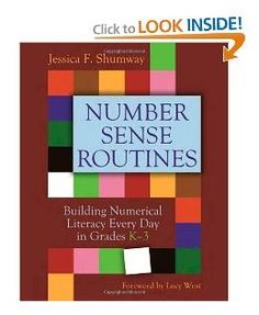 Little Minds at Work: Number Sense Routines Book Study: Chapter One