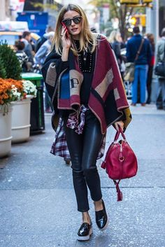 Just Smile With Style: Olivia Palermo's Guide To Wearing Colours (Autumn/Winter Edition)
