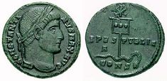 As-Constantine-XR RIC vII 019 - Labarum - Wikipedia, the free encyclopedia