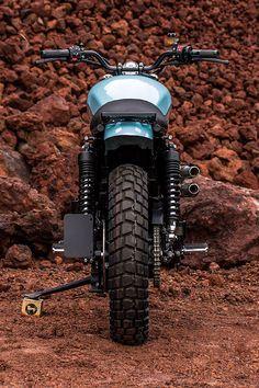 'Baja 900' Triumph Scrambler - Catrina Motosurf