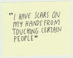 Certain people.