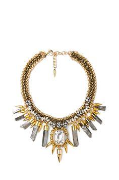 ASSAD MOUNSER Rex Collar Necklace in Gold