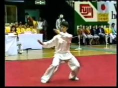 THIS IS ONE OF THE MOST BEAUTIFUL THINGS I HAVE EVER SEEN!  And don't think for a minute that  it's easy!    .....Tai Chi World Champion GaoJiaMin performs TaiChi Quan42 Competition Form  ...