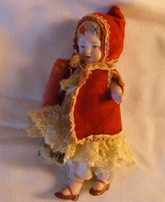 Late 1880'searly 1900's Era German Bisque 4 1/2 by twomarchhares