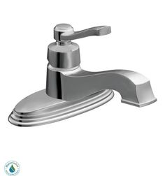 View the Moen S6202 Single Handle Single Hole Bathroom Faucet from the Rothbury Collection (Valve Included) at FaucetDirect.com.
