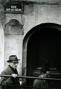 William Burroughs, Paris.