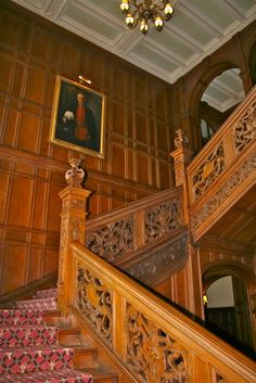 tylney hall | Tylney Hall Staircase © Laurel Kallenbach
