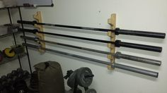 diy barbell rack - Google Search