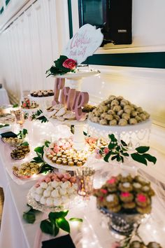The Cookie Table: A Pittsburgh Wedding Tradition - weddingtopia <br> Your visitors can watch the procedure and choose their own toppings, which adds a tiny activity to your wedding party for everyone taking a rest from the dance floor Cookie Table Wedding, Italian Wedding Cookies, Dessert Bar Wedding, Wedding Reception Food, Dessert Bars, Wedding Table, Wedding Ideas, Dessert Buffet, Dessert Tables