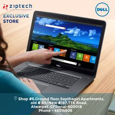 Get amazing offers @ Ziptech.com    We are providing the best DELL laptops and desktops are avail at Alwarpet, Chennai. Call now 044- 48515606.