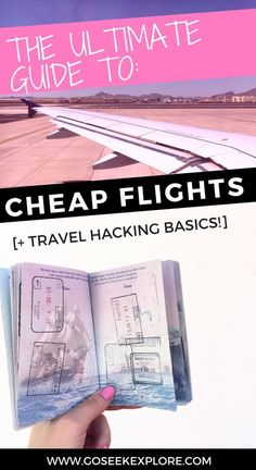 Ultimate Guide to Cheap Flights and Travel Hacking Basics — GO SEEK EXPLORE - The Ultimate Guide to Cheap Flights and Travel Hacking Basics! The best online resources for findin - Super Cheap Flights, Find Cheap Flights, Cheapest Flights, Lost Soul, Travel Advice, Travel Guides, Travel Hacks, Travel Checklist, Cheap Travel