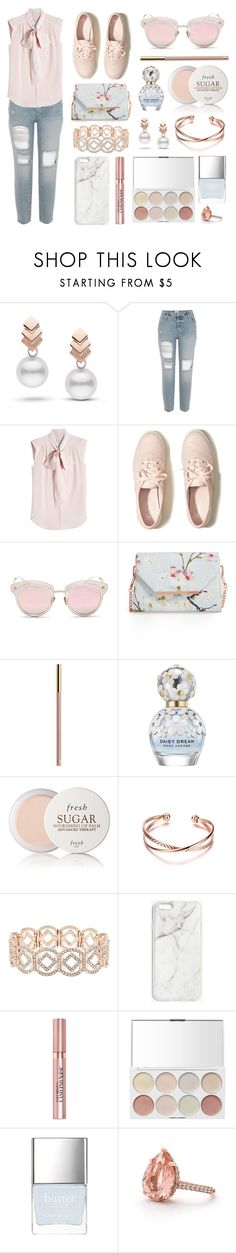 """Pastel + BF Jeans // Sapphire"" by flower-crown-gurls ❤ liked on Polyvore featuring Escalier, MaxMara, Hollister Co., LMNT, Ted Baker, Marc Jacobs, Fresh, Accessorize, Boohoo and L'Oréal Paris"