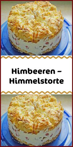 Himbeeren – Himmelstorte - Zutaten 4 Ei(er) getrennt 100 g Butter 300 g Zucker 2 EL Milch 125 g Mehl Pck. Easy Cake Recipes, Dessert Recipes, Cake Ingredients, Chip Cookies, Vanilla Cake, Vanilla Sugar, Raspberry, Bakery, Food And Drink