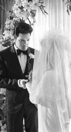May 1967 Elvis and Priscilla wedding